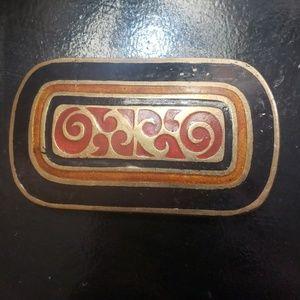 Beautiful Brass Belt Buckle
